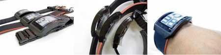 ケース形状がカーブして腕に着けた時のフィット感も最高♪機能&デザイン&快適性が抜群♪